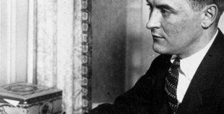 El escritor Francis Scott Key Fitzgerald.