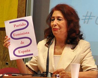 Curso gratuito sobre Feminismo y Política, impartido por Lidia Falcón, en el CAUM de Madrid