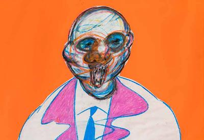 Exposición de dibujos de Francis Bacon, en el Círculo de Bellas Artes de Madrid