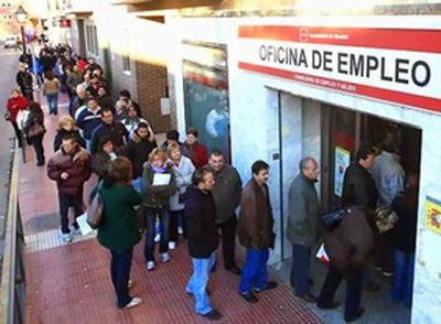 El paro ha subido en febrero en la Comunidad de Madrid en 1673 desempleados más
