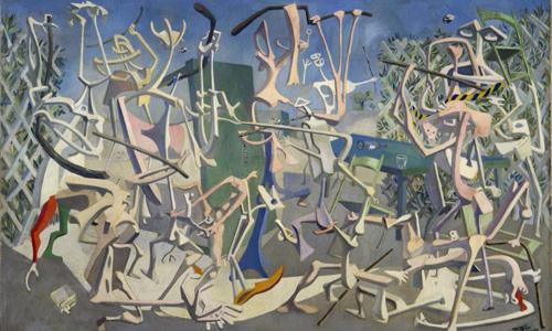 Art et Liberté (Arte y Libertad), creadores surrealistas egipcios, exposición en el Reina Sofía
