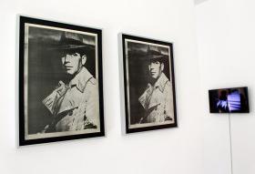 Exposición 'Apuntes para una psiquiatría destructiva', en la Sala de Arte Joven de Madrid