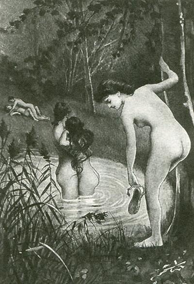 Ilustración Fanny-Hill.