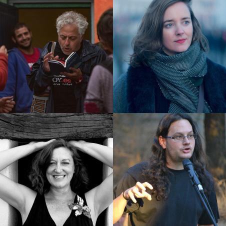 Antonio Orihuela, Sara Herrera Peralta, Mada Alderete y Alberto García-Teresa.