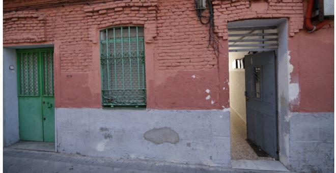 Fachada del edificio de la calle Peironcely 10, tal y como se encuentra en la actualidad.
