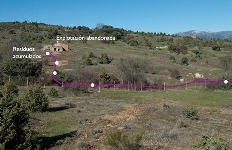 Arsénico contaminante en las minas de wolframio del Cerro de San Pedro y en otras zonas de la Comunidad de Madrid
