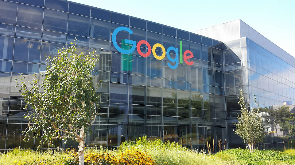 Oficina central de Google en Mountain View, California.