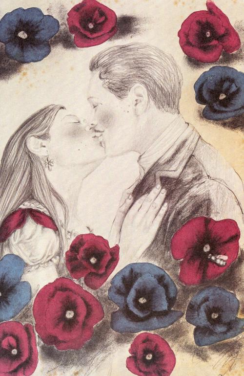 'Las penas del joven Werthe', ilustrado por Rosana Mesa.
