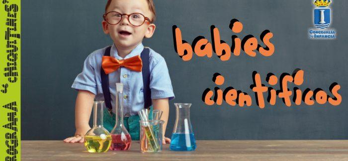 Abierto el plazo de inscripción para el Taller de Babies Científicos, en Humanes