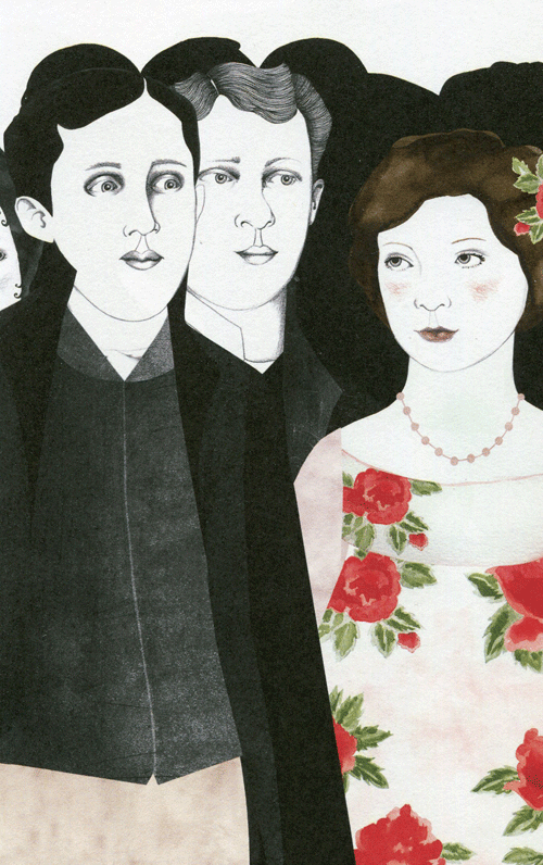 'Los Watson' de Jane Austen, con ilustraciones de Sara Morante.