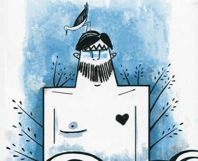 Una fábula ilustrada, 'El hombre que amaba las islas', relato breve de D. H. Lawrence