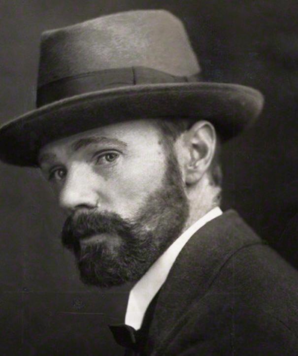 D.H. Lawrence, autor de 'El hombre que amaba las islas'.