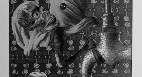 Locura de amor. Collage de Emi Yagüe incluido en 'Traspiés voluntarios'.