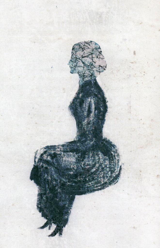 Ilustración de Elena Ferrándiz para el libro 'Kew Gardens y otros cuentos', de Virginia Woolf.