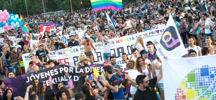 Manifestación del Día del Orgullo, del año pasado, en Madrid.