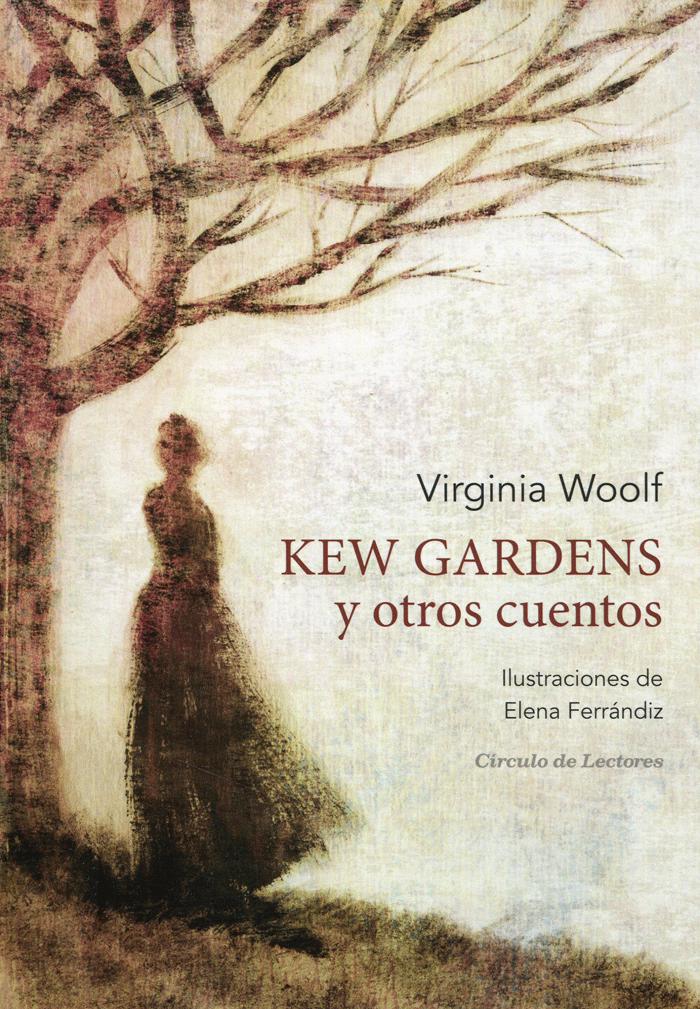 Portada de 'Kew-Gardens y otros cuentos', de Virginia Woolf.