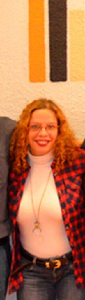 Inés Mendoza, escritora y profesora del curso, en la Escuela de Escritores de Madrid.
