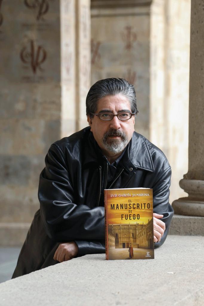 Luis García Jambrina, autor de 'El manuscrito de fuego'.