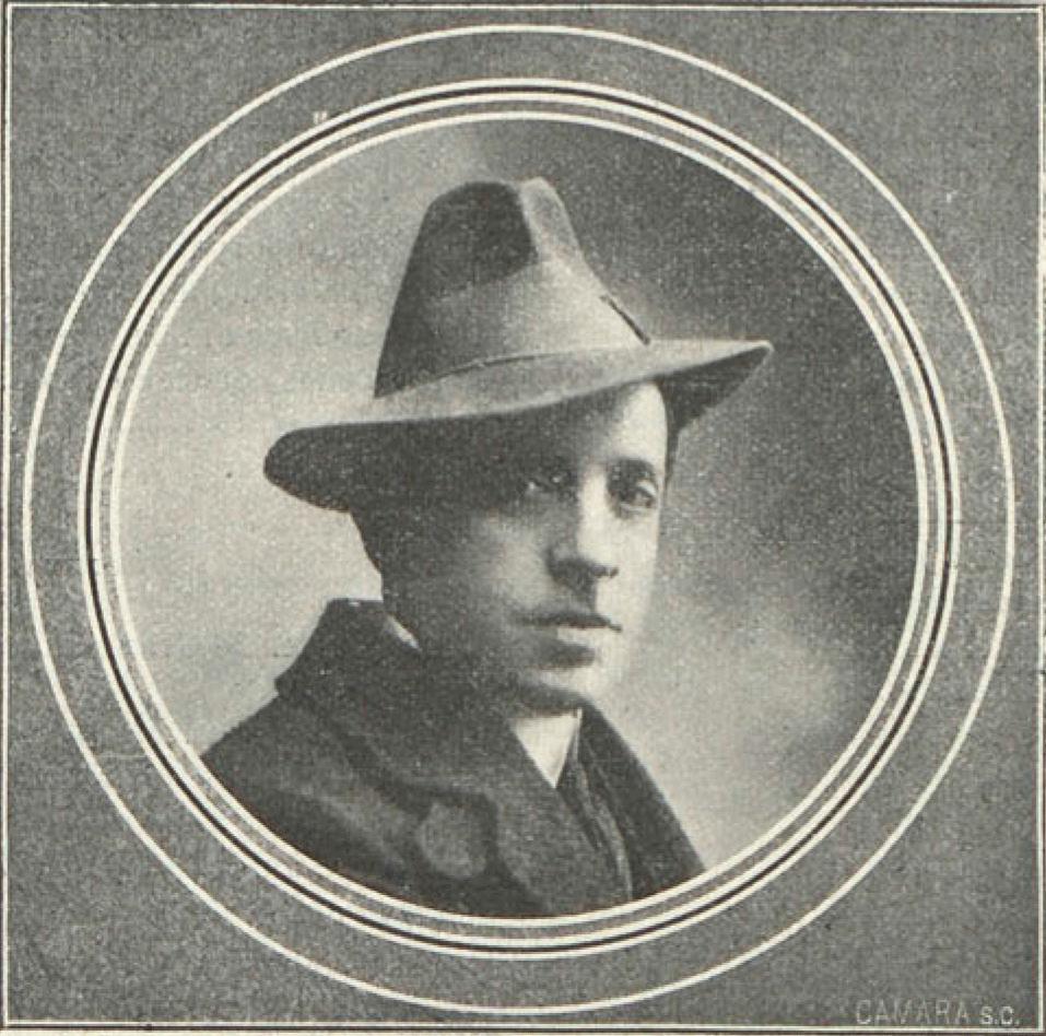 Francisco Villaespesa (1877-1936), autor de 'El último Abderramán y otras novelas cortas'. (Fotografía de la Biblioteca Nacional de Madrid).