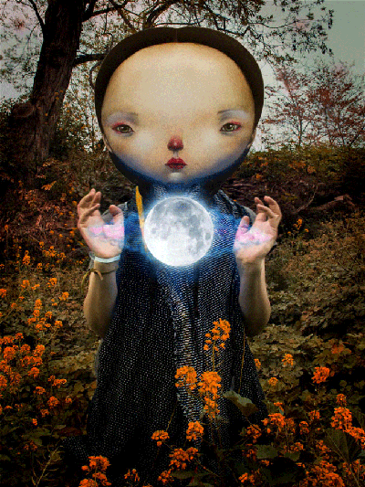 Dilka Bear, artista fotografiado por Dr. Case, expuesto en Symbiosis.