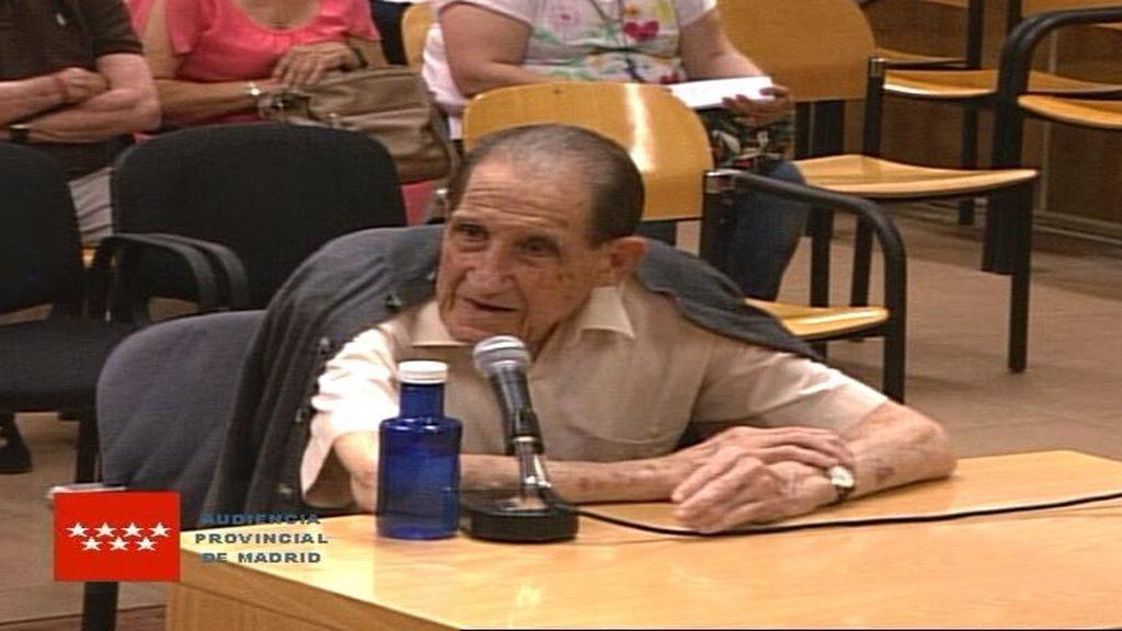 El ginecólogo Eduardo Vela, en la Audiencia Provincial de Madrid.