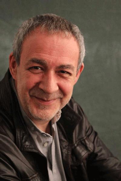 El escritor Ángel Zapata, autor de 'Luz de tormenta'.