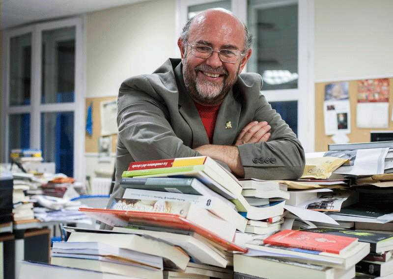 Antón Castro, autor de 'Cariñena'. (Fotografía de Oliver Duch).