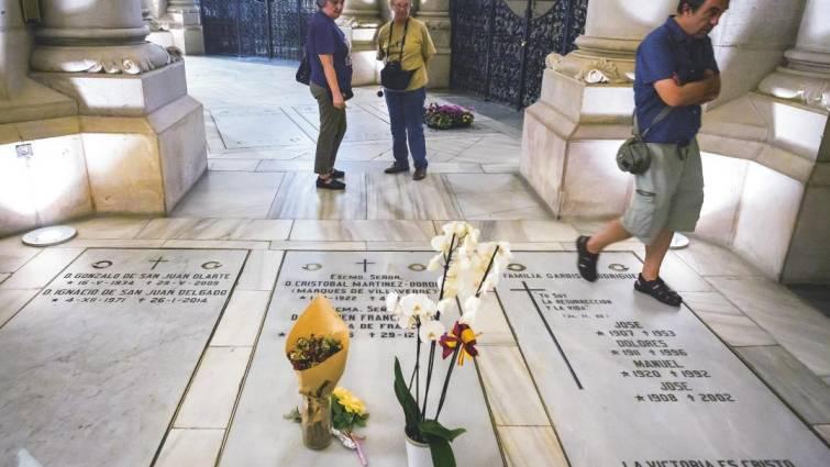 Espacio de la cripta de la catedral de la Almudena en el que la familia Franco tiene un derecho de inhumación perpetua, según aseguran en su escrito de alegaciones.