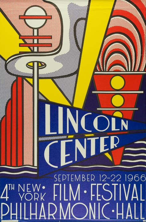 Lichtenstein. Festival del Lincoln Center de Nueva York de 1966. Copyright: © Fundación Canal.
