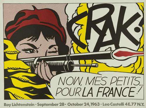Roy Lichtenstein, CRAK, 1963. Copyright: © Fundación Canal.
