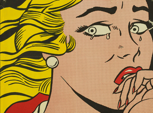 Roy Lichtenstein, Crying Girl, 1963. Copyright: © Fundación Canal.