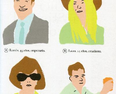 Ilustración de Luis Mazón incluida en 'El libro del odio'.