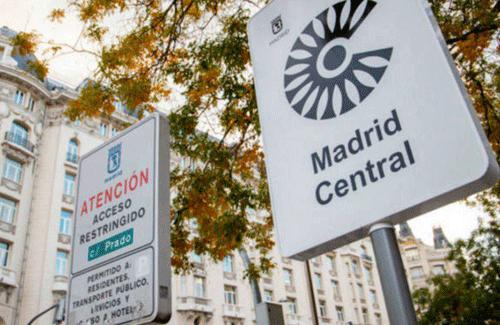 Descenso de la contaminación en Madrid en 2018, según Ecologistas en Acción