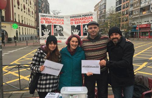 Consultas populares en Madrid: ¿monarquía o república? (archivo www.monarquiaorepublica.org).