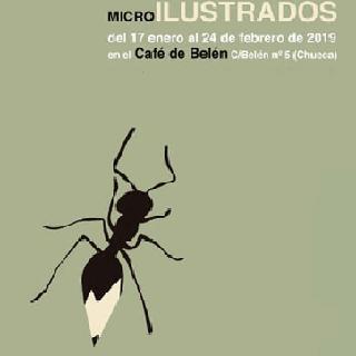 Exposición MICRO Ilustrados o de cómo dibujar la literatura