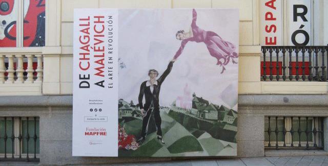'De Chagall a Malévich: el arte en revolución': creación, ruptura y compromiso político