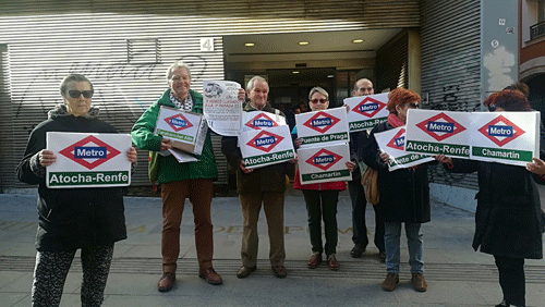 Vecinos de Carabanchel exigen la ampliación de la línea 11 de Metro