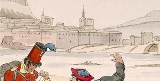 Un corresponsal suizo en la guerra carlista: 'A través de las Españas', de Auguste Meylan.