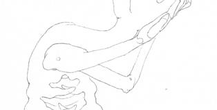 Hambre (Ilustración de Misael García Lanzas).