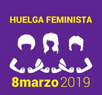 Manifestación 8 de marzo de 2019, Día de la Mujer, en Madrid