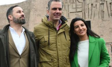 Vox se apropia del ejército y se apoya en las fuerzas de seguridad y en la monarquía