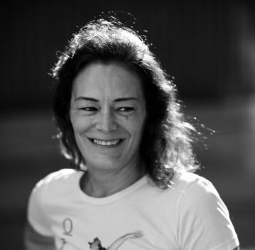 Esther García Llovet (Málaga, 1963), autora de la novela Sánchez (2019).