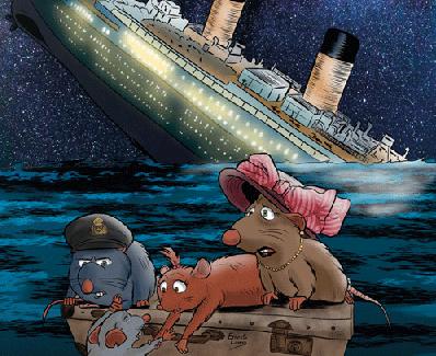Los valores humanos en la novela 'Las ratas del Titanic', de Pedro M. Domene