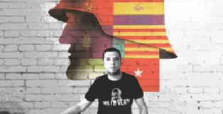 Acto en apoyo a Marco Antonio Santos, militar sancionado por declararse republicano.
