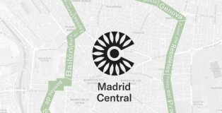 Ámbito territorial de Madrid Central.