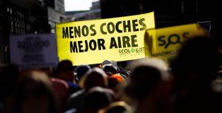Manifestación en defensa de Madrid Central, del pasado sábado, 29 de junio 2019.