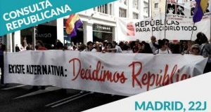La República gana la última consulta popular realizada en el centro de Madrid.
