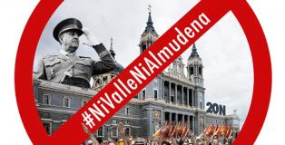 Concentración de la Campaña #NiValleNiAlmudena.