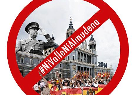 Concentración #NiValleNiAlmudena, a las 20 horas, en la Puerta del Sol