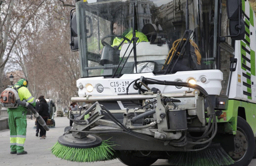 CCOO afirma que es falso la contratación de nuevos barrenderos por parte del Ayuntamiento de Madrid